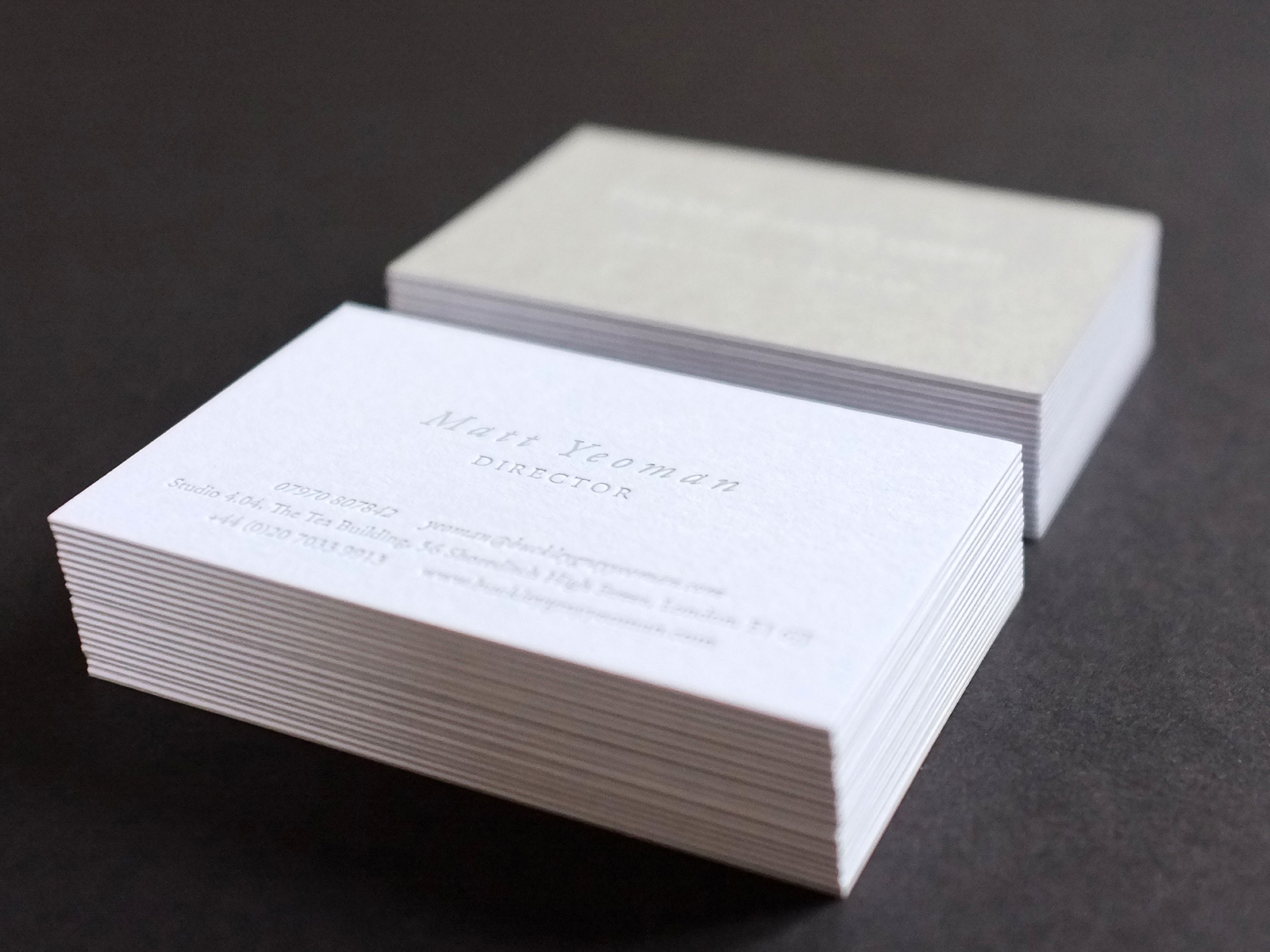 BuckleyGrayYeoman — Business Cards