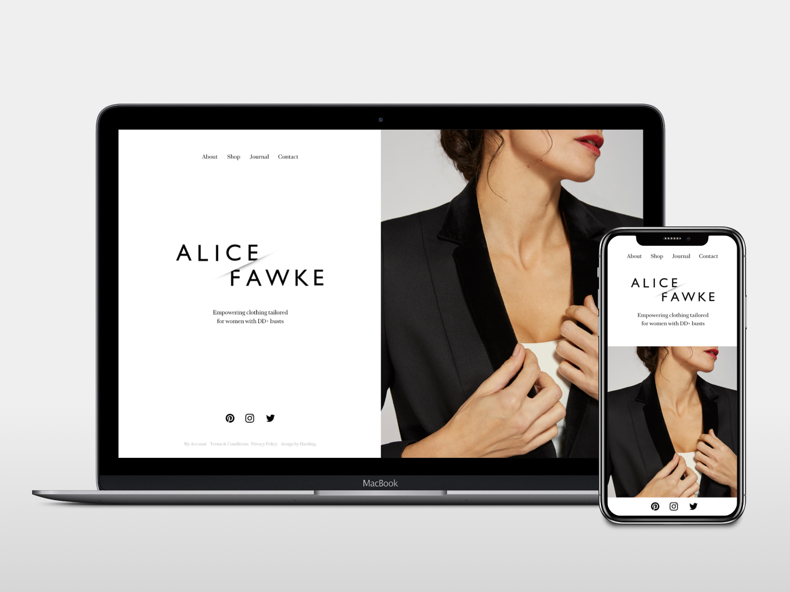 Lee Harding - Alice Fawke website