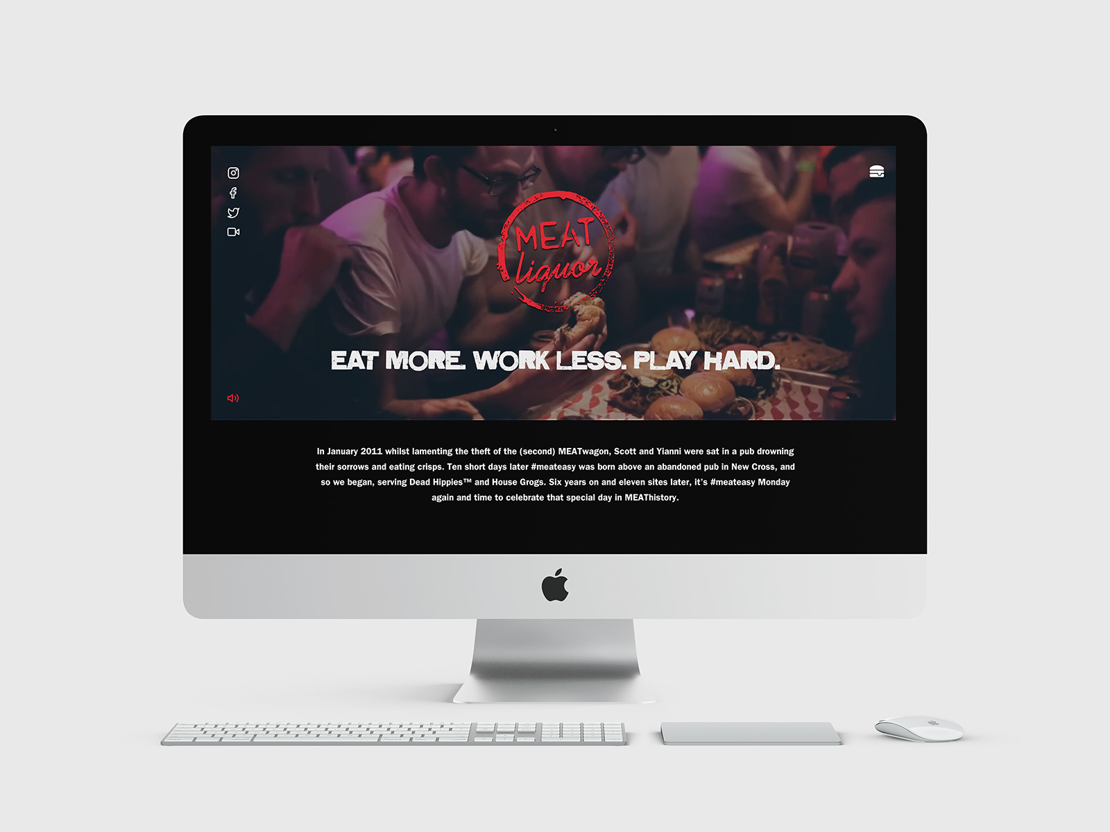 MEATliquor — Website