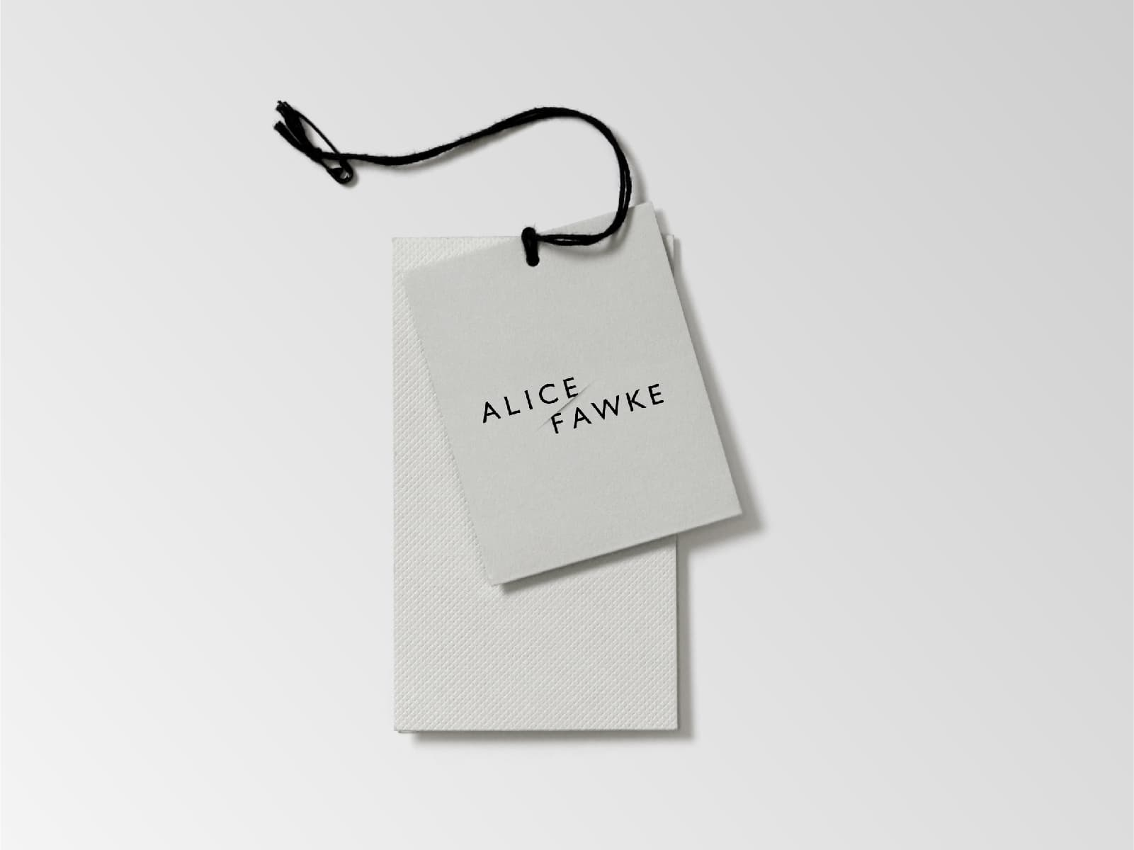 Alice Fawke — Swing Tags