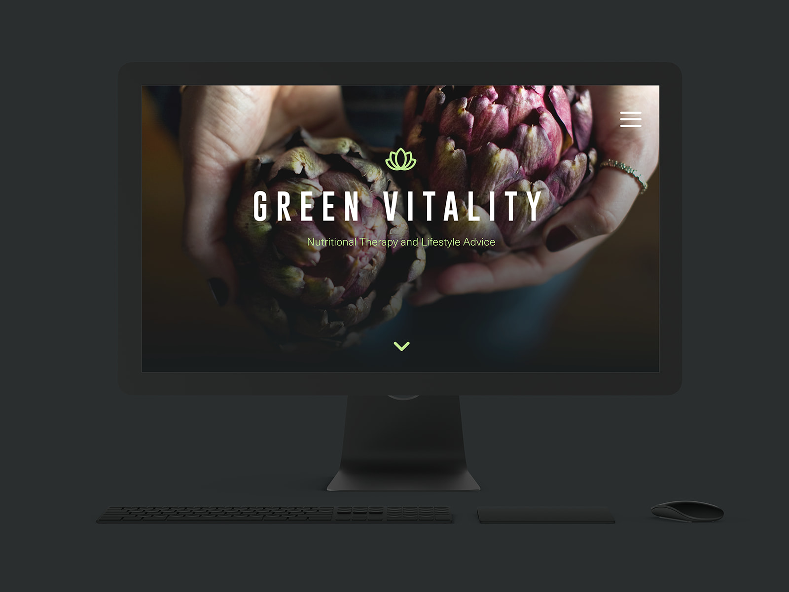 Green Vitality — Website