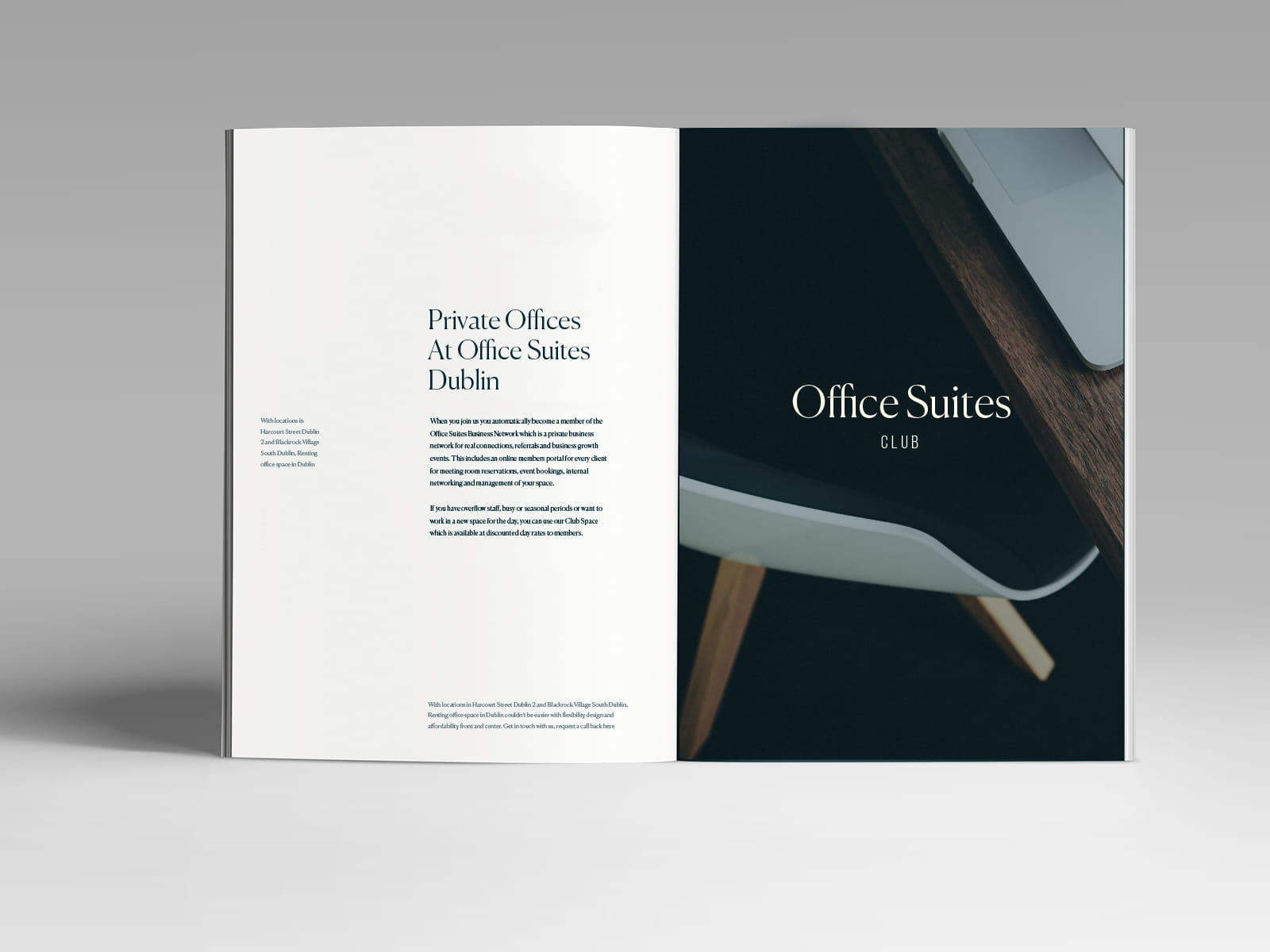Lee Harding — Office Suites Club : Brochure