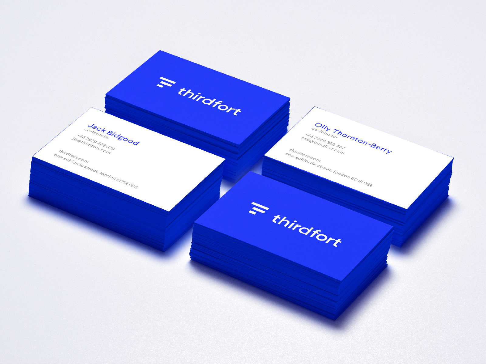 Thirdfort — Business Cards
